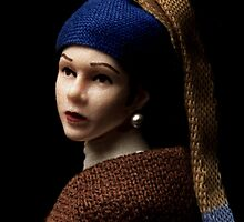 Princess with a Pearl Earring by egerbver