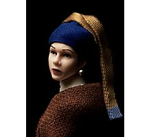 Princess with a Pearl Earring Photographic Print