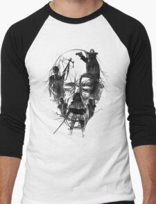 Dead Walker Men's Baseball ¾ T-Shirt
