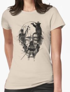 Dead Walker Womens Fitted T-Shirt