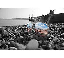 Beach Sun Glasses Photographic Print