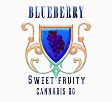 Weed blueberry  sweet fruity gifts Unisex T-Shirt