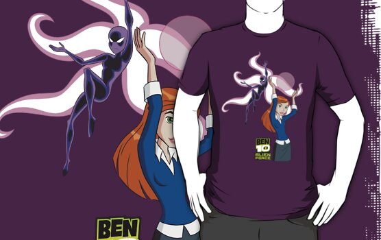 Ben 10 Alien Force: Gwen T-Shirt by RandomDraggon