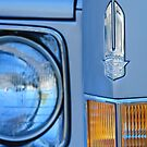 Cadillac Headlight Emblem by Jill Reger