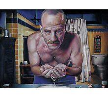 """Walter """"Heisenberg"""" White Photographic Print"""