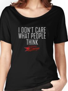 I don't care what people think - Kimi Raikkonen life motto  Women's Relaxed Fit T-Shirt