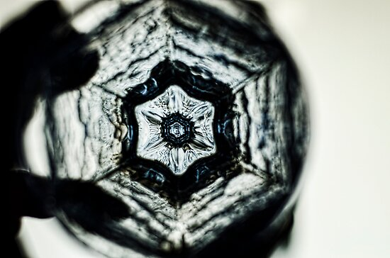 Staring Down the Bottom of an Empty Glass by Andrew Simoni