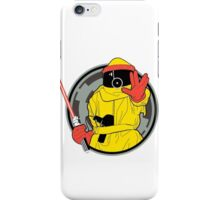 Darth Vader from the Planet Vulcan (BTTF) iPhone Case/Skin