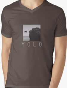 YOLO Mens V-Neck T-Shirt