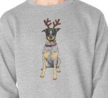 "Australian Cattle Dog, Blue Heeler, ""Bah Humbug"" Pullover"