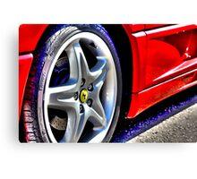 Ferrari Flair Canvas Print