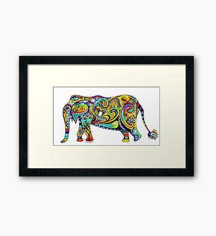 Overcoming Obstacles Framed Print