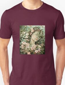 selfportrait with apple flowers T-Shirt