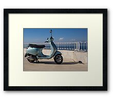 Scooter Framed Print