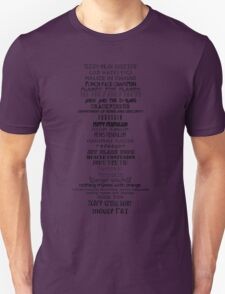 Parks and Recreation MOUSE RAT previous names T-Shirt