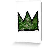 "Basquiat ""King of Atlanta Georgia"" Greeting Card"