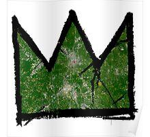 "Basquiat ""King of Atlanta Georgia"" Poster"