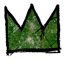 "Basquiat ""King of Atlanta Georgia"" Photographic Print"