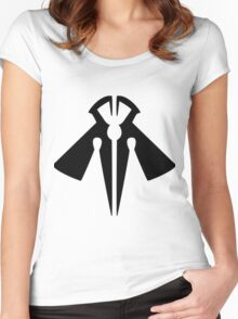 Rank-Up-Magic Raptor's Force Black edition Women's Fitted Scoop T-Shirt
