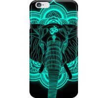 Hindu god elephant Ganesha iPhone Case/Skin