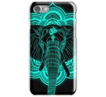 Hindu god elephant Ganesha iPhone Case/Skin