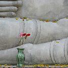Bhuddah Flowers in Fall by KelseyGallery