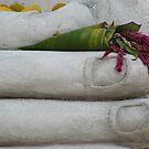 Buddha Flowers in Purple by KelseyGallery