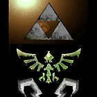 Skyward Sword iPhone Shield- Hero Link&#x27;s theme by Midna