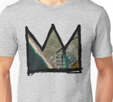 "Basquiat ""King of Venice Beach"" Marina Del Ray Unisex T-Shirt"