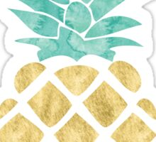 Golden Pineapple Sticker