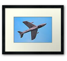 Hunter XL573 - Top Side Framed Print