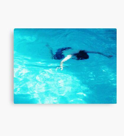 Faux Drown Canvas Print
