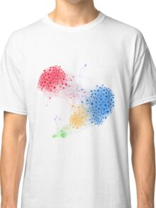 The Graph Of A Social Network Classic T-Shirt