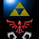 iPhone/iPad Shield- Hylian theme by Midna