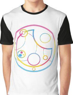 Pansexual in Circular Gallifreyan Graphic T-Shirt