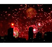 Fourth of July! New York City Photographic Print