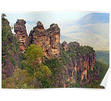Looking Down on the Three Sisters Poster