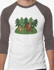 Smarter Than The Average Dead Head Men's Baseball ¾ T-Shirt