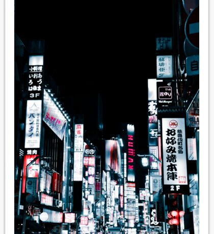 Kabukicho's Signs Sticker