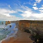 The Twelve Apostles. Port Cambell National Pk, Victoria, Australia. (2) by Ralph de Zilva