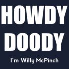 Willy McPinch by SimonSiThornton