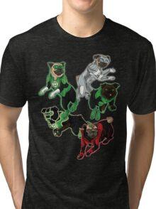 Pug Lantern Corp Tri-blend T-Shirt