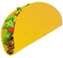 Taco Emoji by viggosaurus