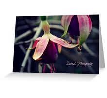 Beauty In Imperfection Greeting Card