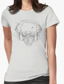 The Silence Womens Fitted T-Shirt