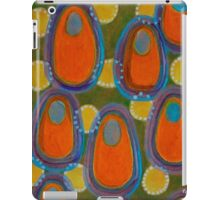Red Eggs with Blue Filling iPad Case/Skin