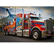 Tow Truck Photographic Print