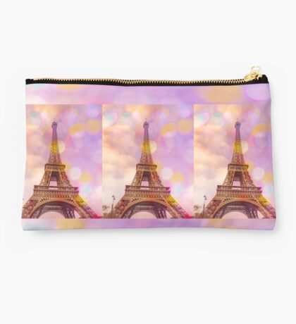 Eiffel Tower Sunset Studio Pouch