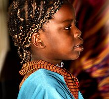 Young Somalian Girl by Carole-Anne