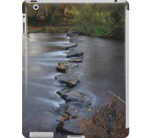 Exmoor: Stepping Stones Across The Barle iPad Case/Skin